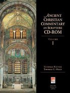 Ancient Christian Commentary on Scripture #01: CDROM CD-rom