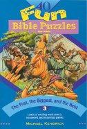 40 Fun Bible Puzzles #03 Paperback