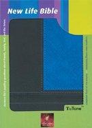 NLT New Life Tutone Blue/Black Imitation Leather