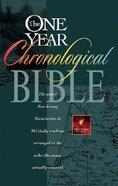 NLT One Year Chronological Bible Hardback