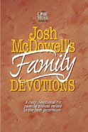 One Year Book of Josh McDowell's Family Devotions Paperback