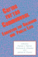 Caring For the Commonweal Education For Religious & Public Life Hardback