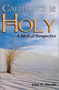 Called to Be Holy Paperback