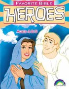 Ages 4&5 (Favourite Bible Heroes Series) Paperback