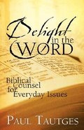 Delight in the Word Hardback