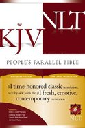 NLT KJV People's Parallel Bible (Black Letter Edition) Hardback