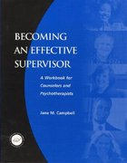 Becoming An Effective Supervisor Paperback