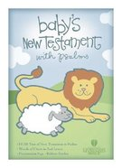 HCSB Baby's New Testament With Psalms Pink (Red Letter Edition) Imitation Leather