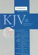 KJV Reference Indexed Burgundy French Morocco Leather (Red Letter Edition) Morocco Leather (Sheepskin)