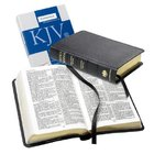 KJV Personal Reference Black (Red Letter Edition) Morocco Leather (Sheepskin)
