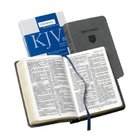 KJV Personal Reference Gray (Red Letter Edition) Imitation Leather
