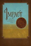 NKJV Impact Student Leadership Bible Premium Imitation Leather