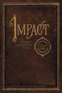 NKJV Impact Student Leadership Bible Hardback