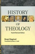 History of Theology (Fourth Edition)