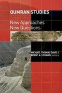 Qumran Studies Paperback