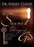 Secret Things of God Hardback