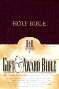 KJV Gift Award Bible Burgundy