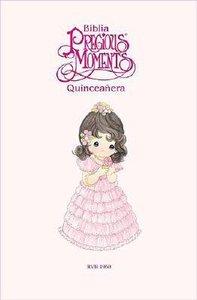 Biblia Quinceanera De Precious Moments Sweet 15 Bible White