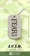 Tag Pendant: Fear Not (Pewter)