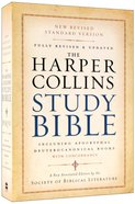 NRSV Harpercollins Study Bible With Apocrypha and Concordance Paperback