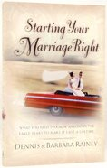 Starting Your Marriage Right Paperback
