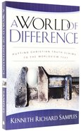 A World of Difference Paperback