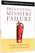 Preventing Ministry Failure Paperback
