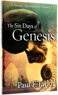 The Six Days of Genesis Paperback