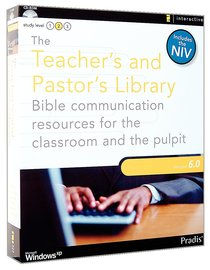 Teachers and Pastors Library 6.0 CDROM Win Includes the NIV