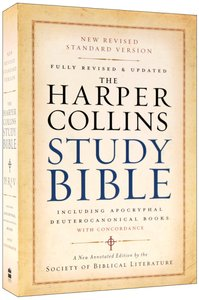 NRSV Harpercollins Study Bible With Apocrypha and Concordance