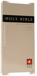 NLT Pocket Thinline New Testament, Psalms & Proverbs