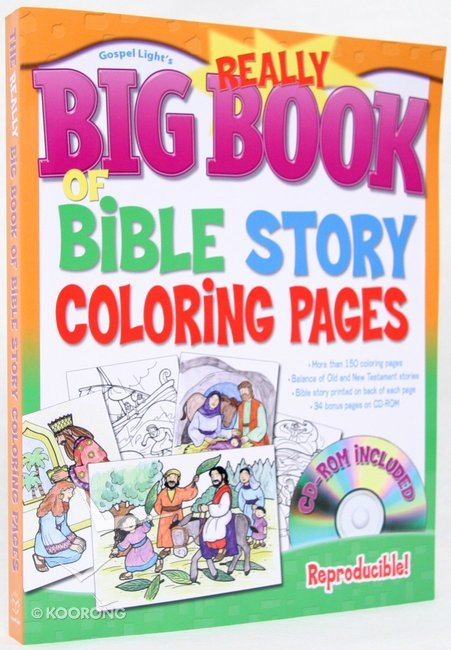 Buy The Really Big Book Of Bible Story Coloring Pages Online