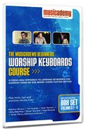 Musicademy: Beginner's Worship Keyboard Box Set (4 DVD Set)
