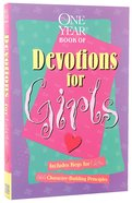 The One Year Devos For Girls Paperback