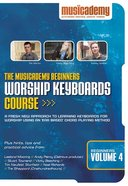 Musicademy: Beginner's Worship Keyboard Volume 4