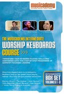 Musicademy: Intermediate Worship Keyboard Box Set (3 DVD Set)