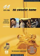 Rcm Volume H: Supplement 44 No Sweeter Name (Musicbook) (1074-1086)
