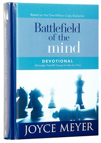 Battlefield of the Mind Devotional:100 Insights That Will Change the Way You Think