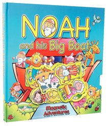 Magnetic Adventures: Noah and His Big Boat