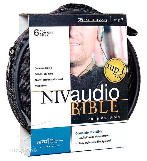 NIV Audio Bible Dramatized on MP3 Unabridged