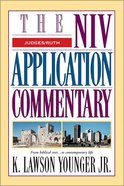 Judges/Ruth (Niv Application Commentary Series) Hardback