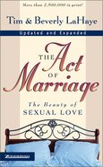 The Act of Marriage Mass Market