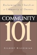 Community 101 Paperback