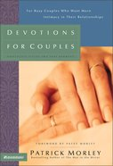 Devotions For Couples Hardback