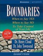 Boundaries (Leader's Guide) Paperback