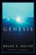 Genesis: A Commentary Hardback