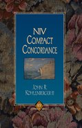 NIV Compact Concordance Paperback