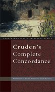 Cruden's Complete Concordance Hardback