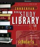 Zondervan Bible Study Library Scholars Edition CDROM Win