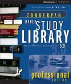 Zondervan Bible Study Library Professional Edition CDROM Win